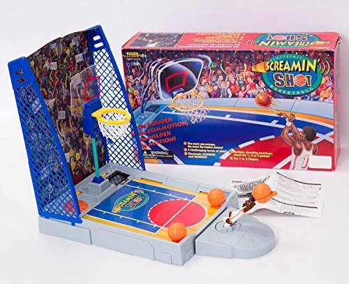 Electronic Screamin' Shot Basketball Game by Tiger Electronics