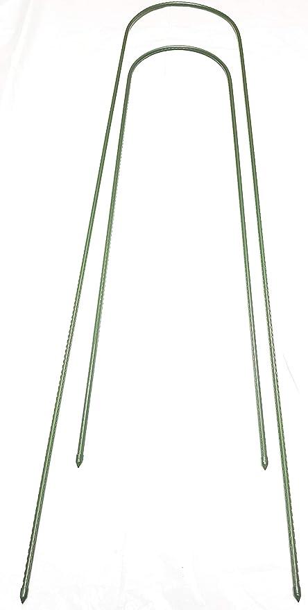 easynets - Juego de 6 cañas para Plantas en Forma de U (150 a 200 ...