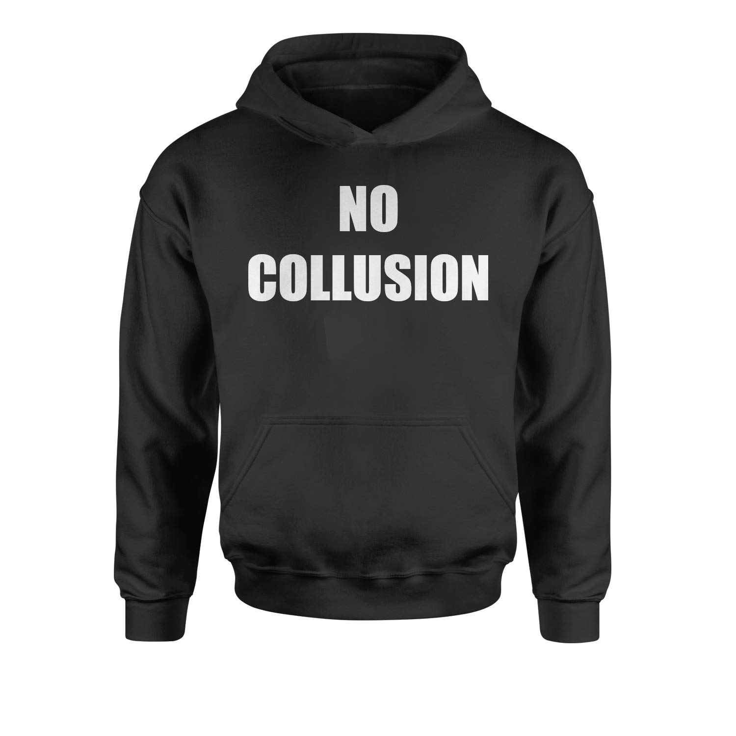 Expression Tees No Collusion Mueller Report Youth-Sized Hoodie