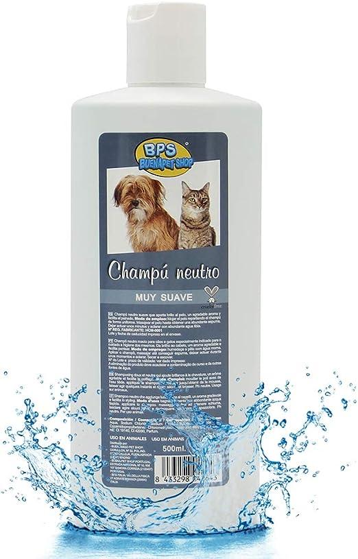 BPS (R) Champú Neutro, Shampoo para Perro, Gato, Animales Domésticos BPS-4264: Amazon.es: Deportes y aire libre