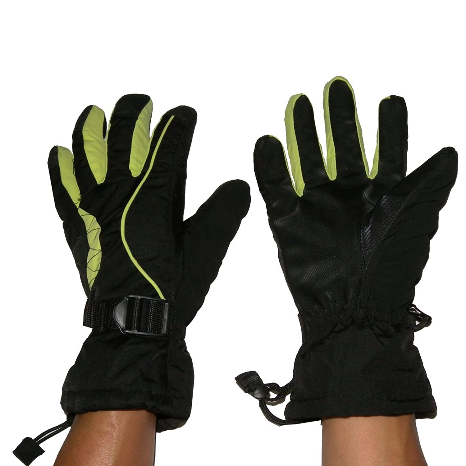 Herren Professionelle Warm & Winddichtes Insulated Winter Ski-Handschuhe mit Innenfutter