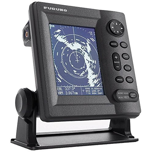 Furuno 1623 LCD Radar 2.2 KW 16NM 15 Dome - Automatic Receiver Tuning/Navigation by Sirimaya
