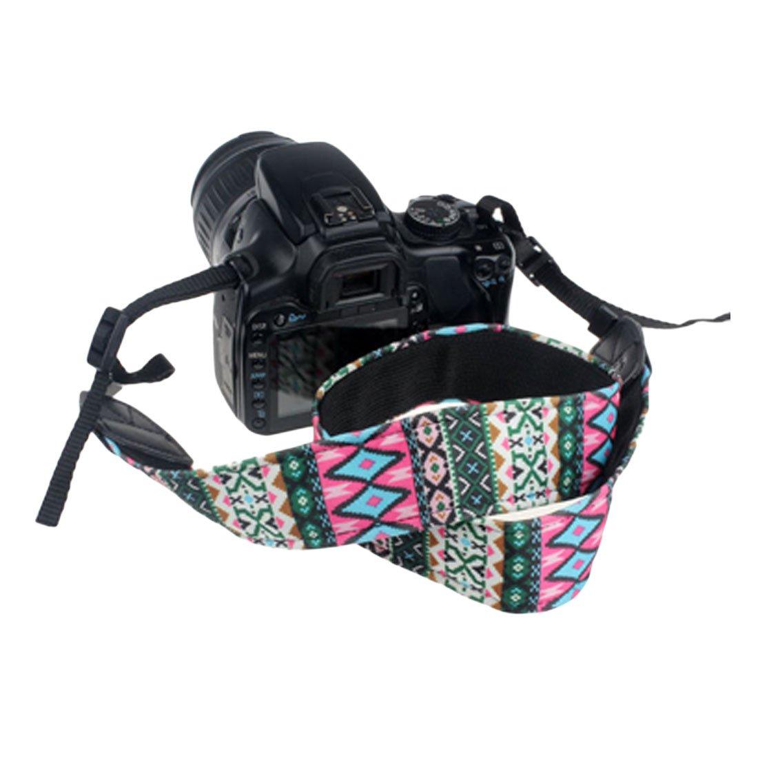 Correa para c/ámara de Fotos de Neopreno y compactas Bolsillos Flexibles de Neopreno para Accesorios para Canon Nikon Sony y Muchas m/ás