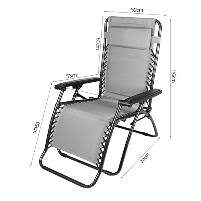 Amazon.com: CGF-Lounge Sillas plegables reclinables silla ...