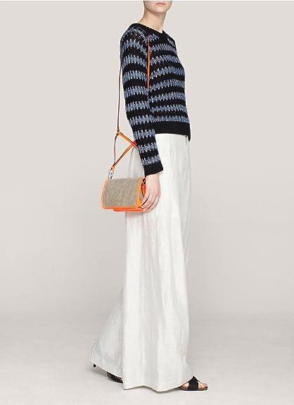 b30c68a1d3 Theyskens' Theory Women's Anen Small crossbody Bag (Natural/Flame): Handbags:  Amazon.com