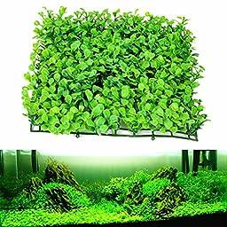 Pparty Aquatic Turf Grass Lawn Aquarium Fish Tank Artificial Landscape Decorations Green Plant