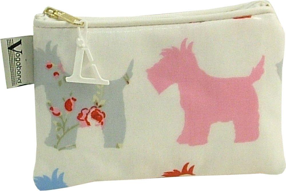 Vagabond Scottie Dog Oil Cloth Cosmetic Toiletries Bag Vagabond Bags Ltd SCOTTIE4215