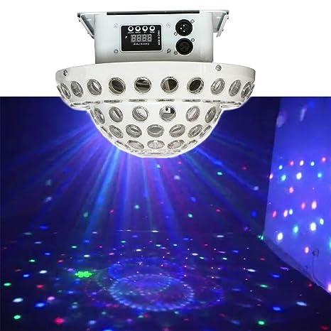 Luces de fiesta Control remoto Mini Etapa Lámpara Patrones ...