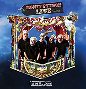 Monty Python: Live (mostly) One Down Five to Go (Deluxe Edition) (DVD/Blu-ray/2CD/Book)