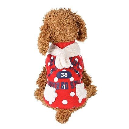 Esoes Abrigo para perro, letras suaves impresas a prueba de viento, abrigo de invierno