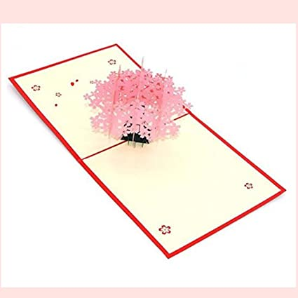Amazon Handmade 3d Pop Up Greeting Cards For Love Pop Up Card
