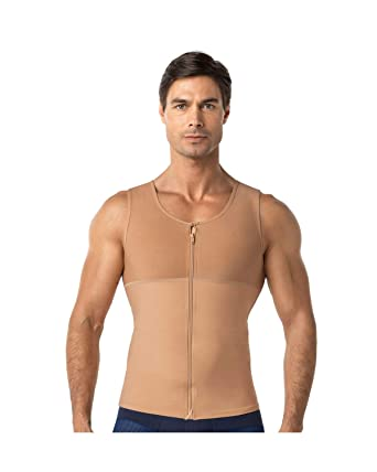 185683a239 Amazon.com  Leo Men s Abs Slimming Body Shaper with Back Support ...