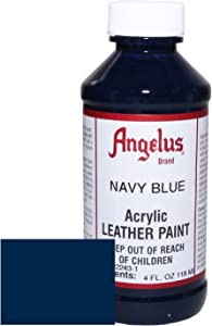 Angelus Acrylic Leather Paint-4oz.-Navy