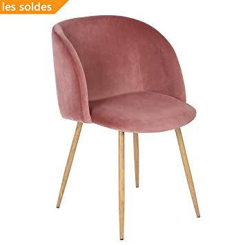 Eggree Velvet Fabric Tub Accent Chair Armchair Dining Living Room Lounge  Office Modern Furniture   Rose Part 94