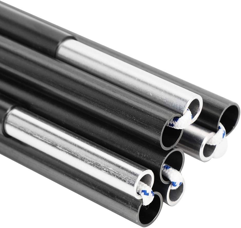 Zeltst/ützstange Aluminium-Doppelzelt-St/ützrahmen-Au/ßenstangenzubeh/ör f/ür die Luftfahrt im Freien Ersatz der Zeltstangen Zeltstange