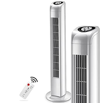 Mobiles Klimagerät Turmventilator, 3-Gang Elektrische luftkühler ...