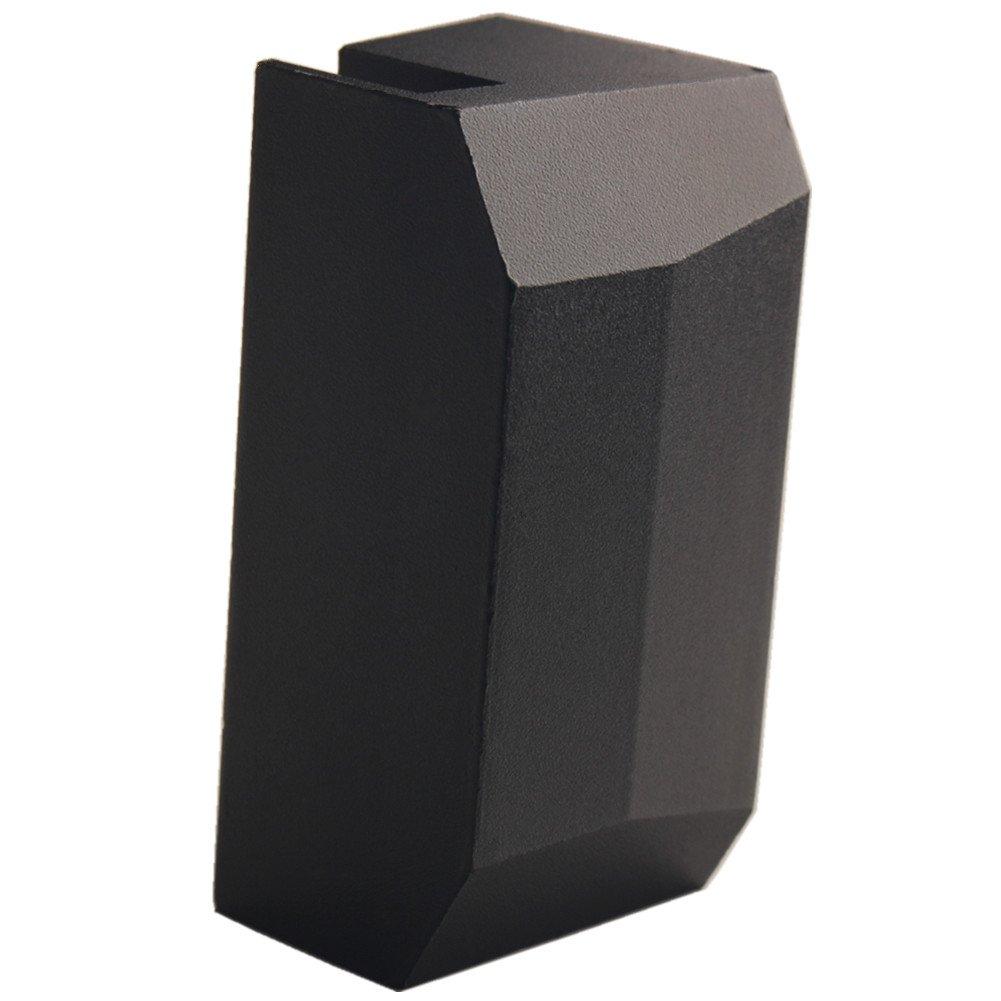 Dewhel Front Lift pads Jack Pad Billet Anodized Black Aluminum Floor Jack For 2010 2011 2012 2013 2014 2015 2016 2017 Challenger