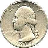 1932 D Washington Quarters (1932-98) Quarter F15 PCGS
