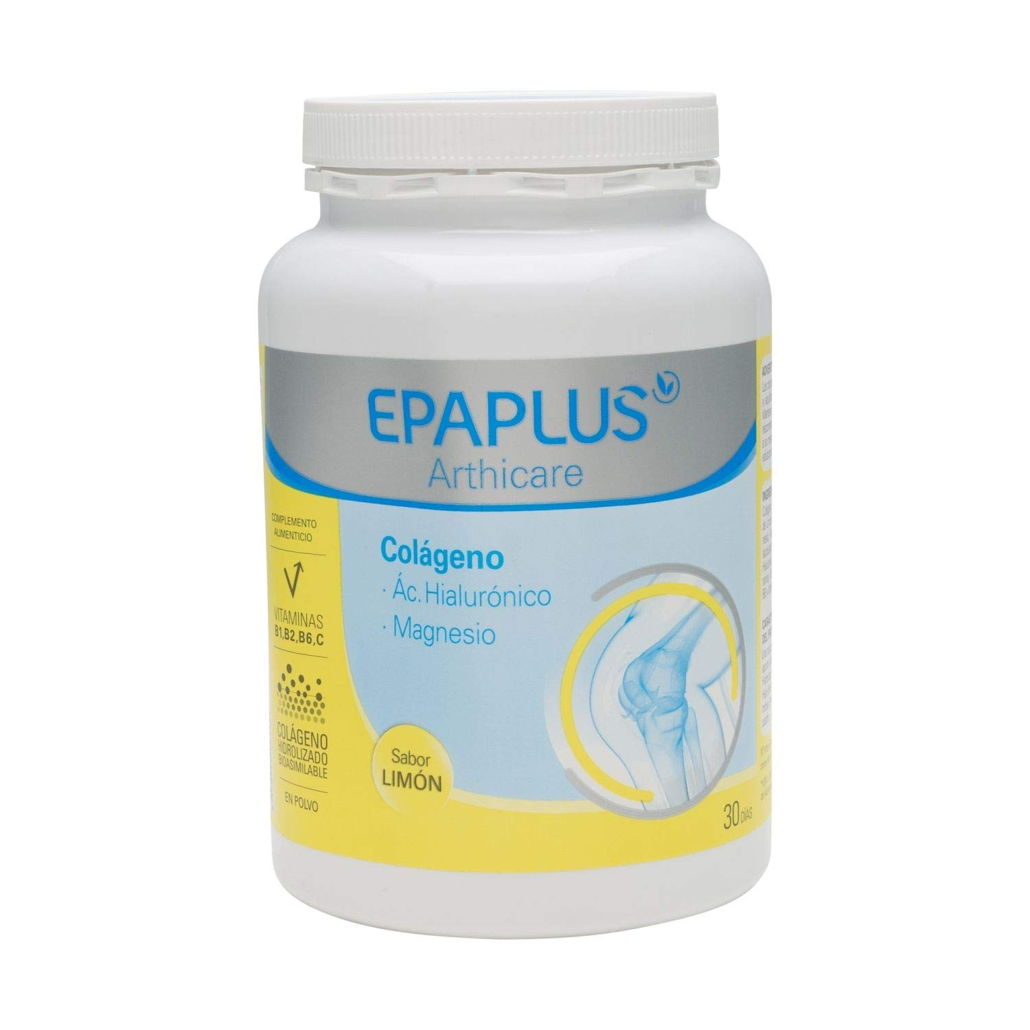 Amazon.com: Epaplus Collagen + Hyaluronic + Magnesium Lemon Flavour 30 Days Powder 332GR / Keep Joints Flexible/Prevent Cartilage Damage: Health & Personal ...