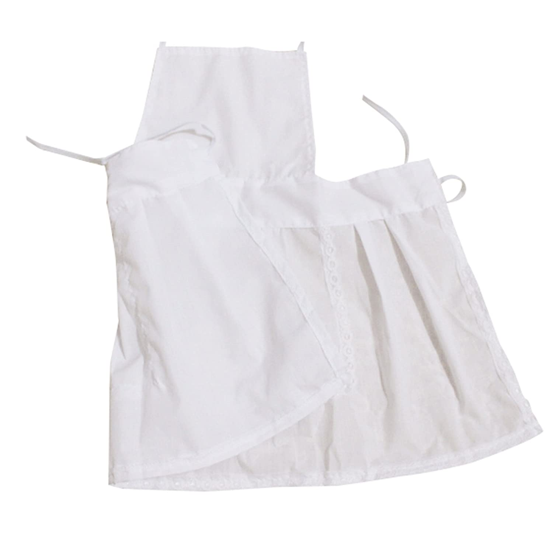 Adorable disfraz para reci/én nacidos o ni/ños peque/ños dise/ño chef de cocina con delantal y gorro de punto para sesiones fotogr/áficas color blanco