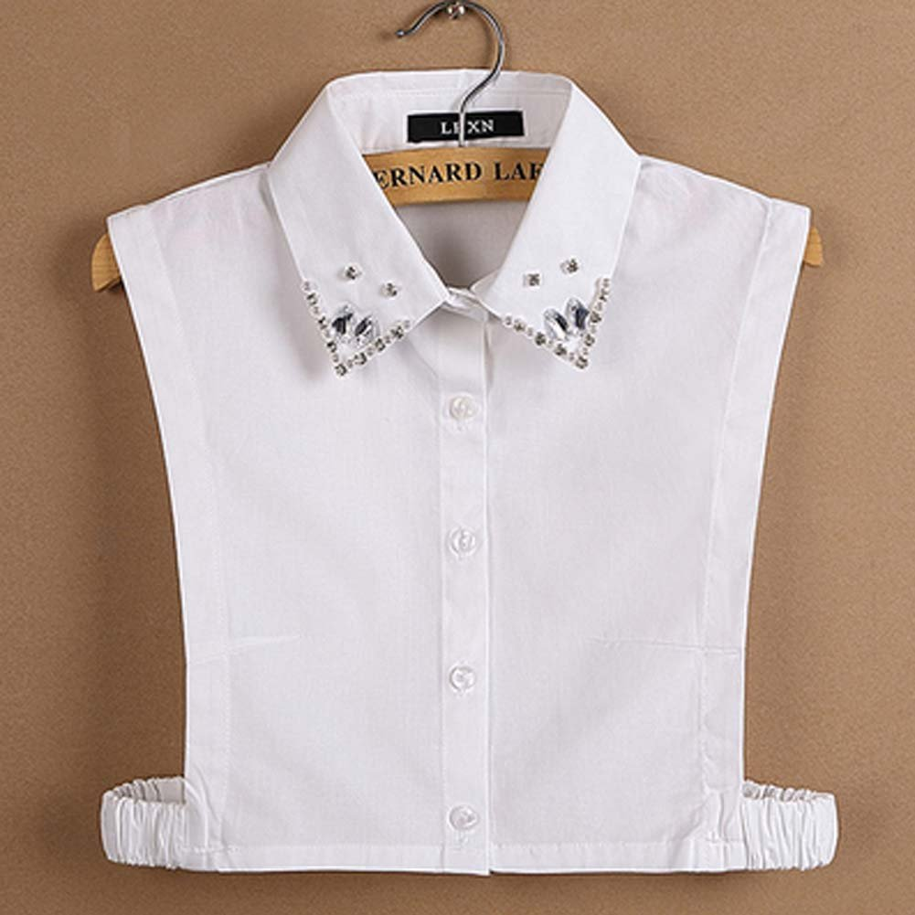 Simple Stylish Detachable Collar Fake Shirt Collar All-purpose Accessory for Women A