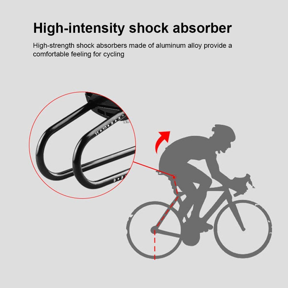 MTB bicycle seat post cycling road mountain bike suspension alloy shock absorber