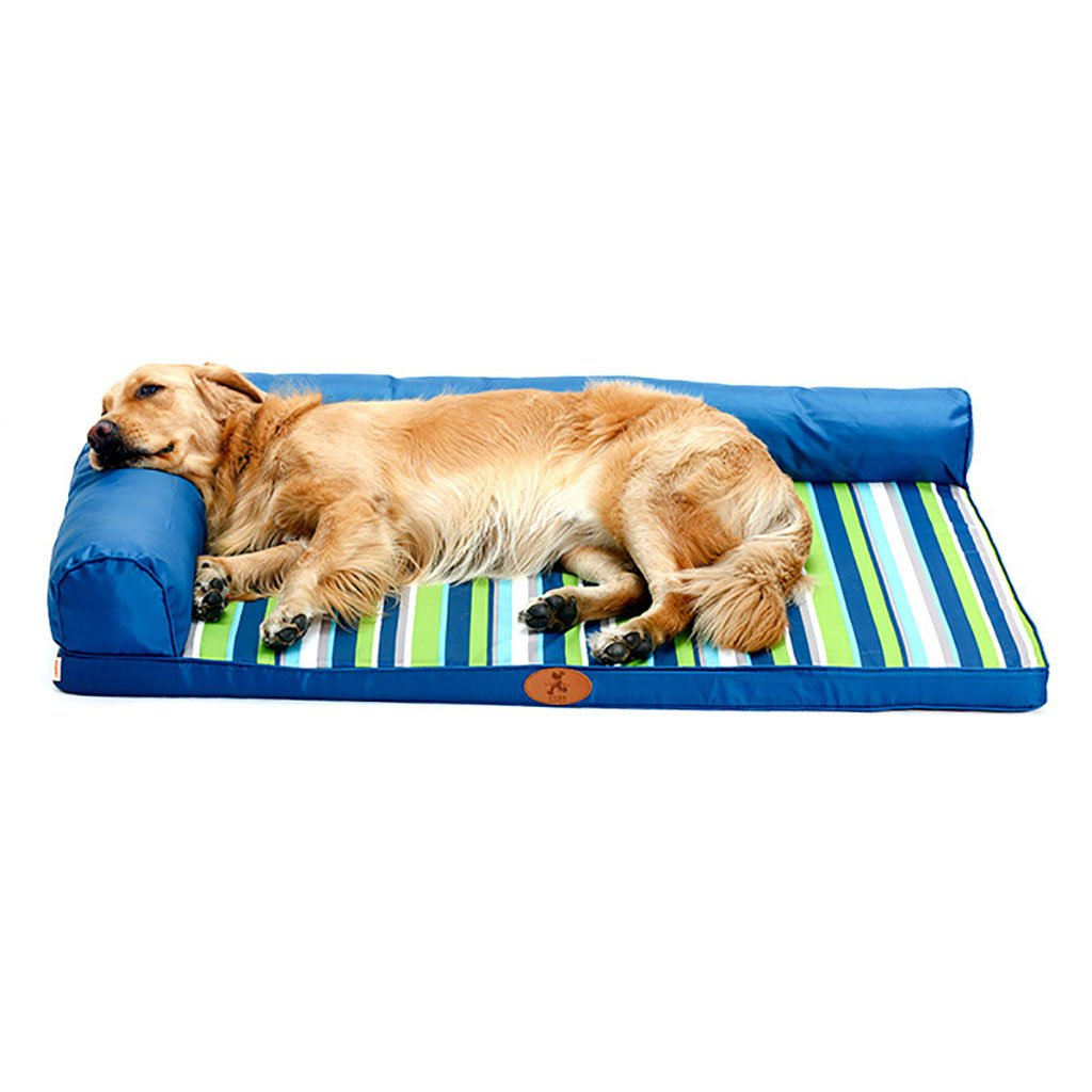 2 backrest S 2 backrest S XXDP Dogs Bed House Pet Bed Sleeping Bag Cushioncat For Cats And Medium Large Dogs Best Pet Supplies Removable Wash-bluee-120  90cm 100  80cm 80  60cm 60  45cm (color   2 backrest, Size   S)