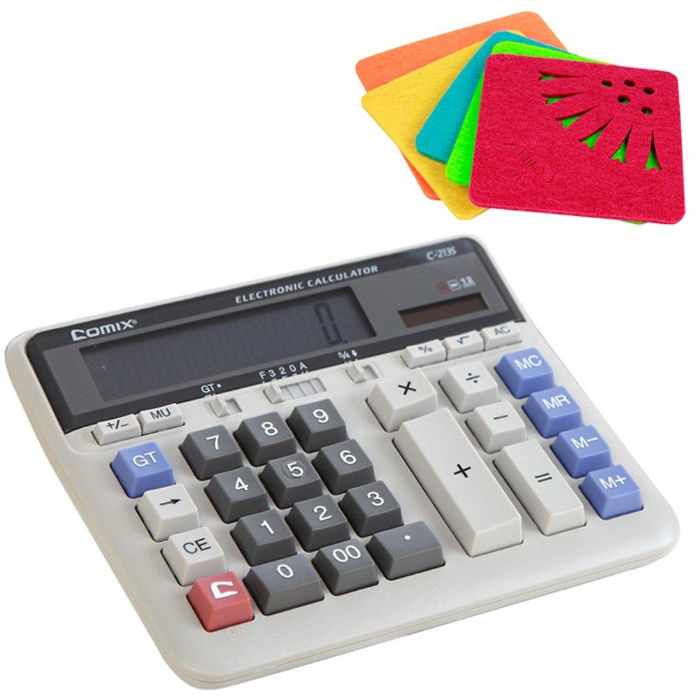 amazon com comix c 2135 large computer keys calculator 12 figure