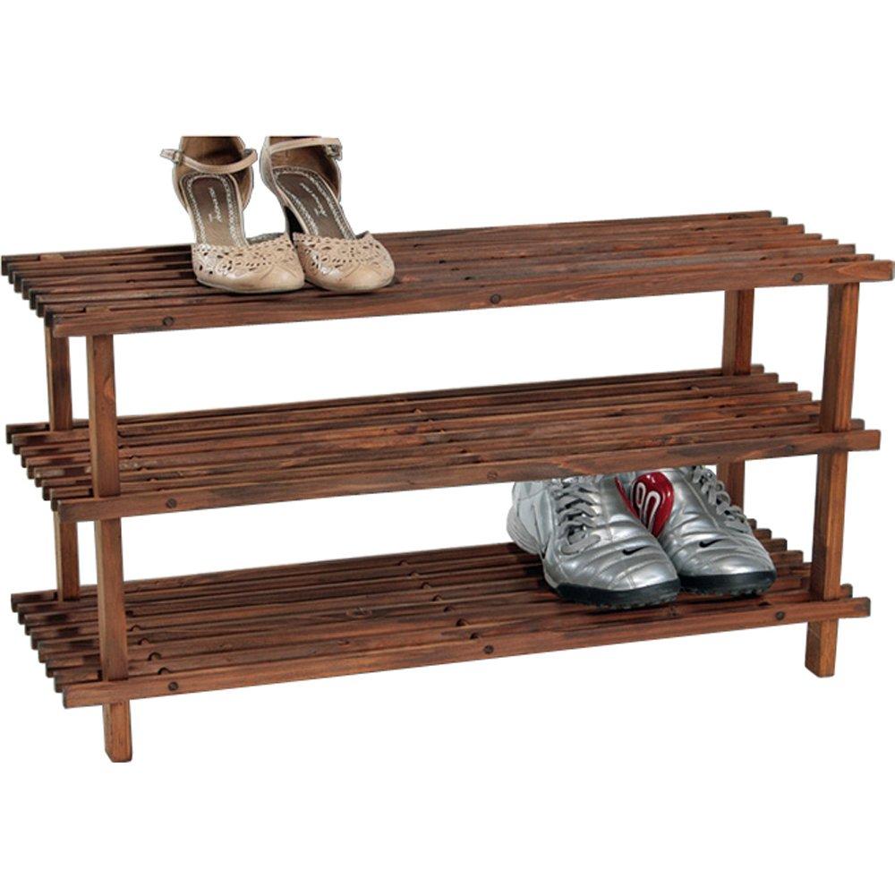 schuhregal holz good holz schuhregal xl mit etagen with. Black Bedroom Furniture Sets. Home Design Ideas