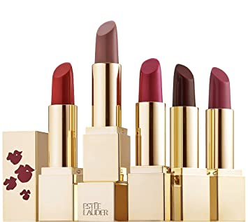 9e1cf8ac8468c Amazon.com   Estee Lauder 5 PC Full Size Pure Color Envy Sculpting Lipstick  Gift Set   Beauty