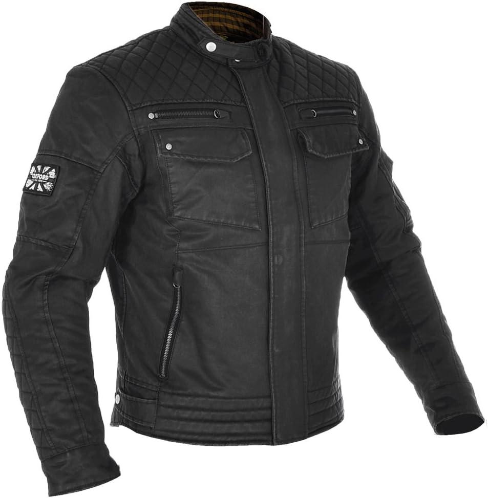 Oxford Hardy Wax Olive Motorbike Motorcycle Bike Bicycle Sports Outdoors Racing Jacket 4XL//50