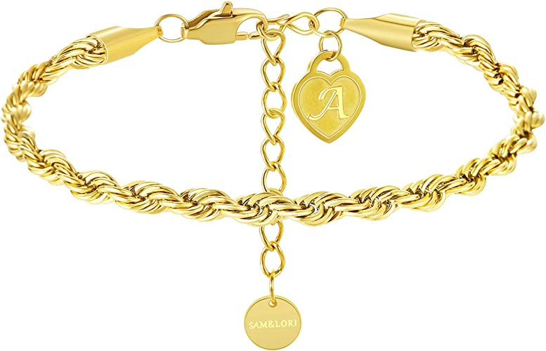 Arrow Charm Bracelet  Simple Gold Chain Bracelet Anniversary Gift  Chain Bracelet  Adjustable Chain  Link Lobster Clasp  Gift for Her