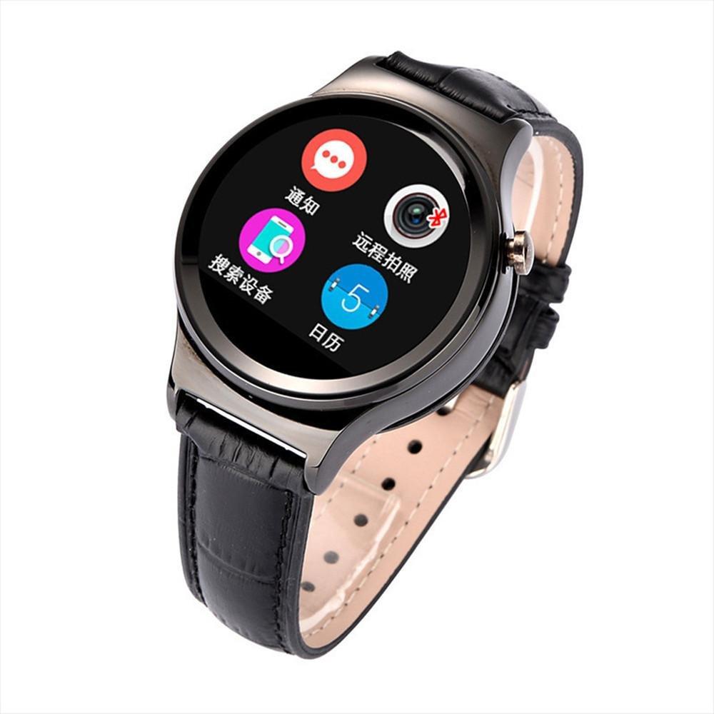 Rund Bildschirm Karte eingefÜgt werden kÖnnen Bluetooth Smart Watch Herzfrequenzmessung Bewegung Call Schritt Armbanduhr