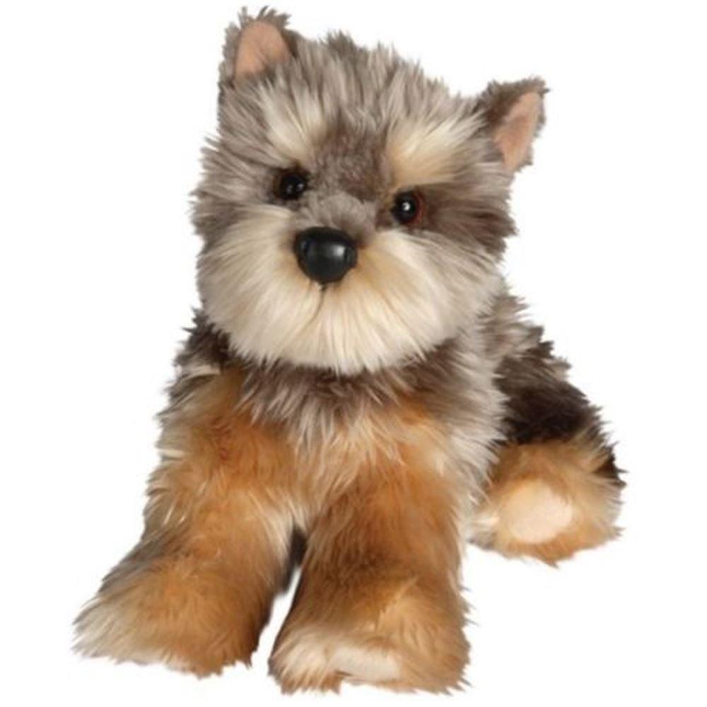 Amazon Com Yettie Yorkie Plush Toy Dog Stuffed Animal 12 Yorkshire