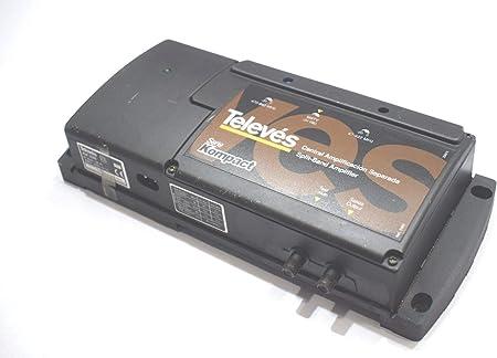 Televes 5310 Kompact - Amplificador central de banda dividida ...