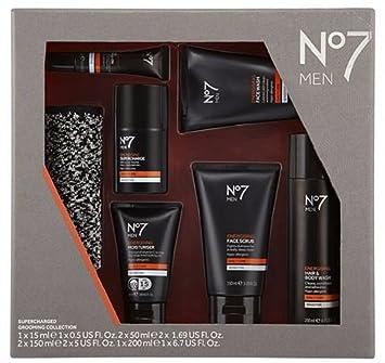 Nouveau kit de Noël N ° 7 pour homme Supercharged Toilettage Collection pour  lui, Ensemble 22d7dac06590