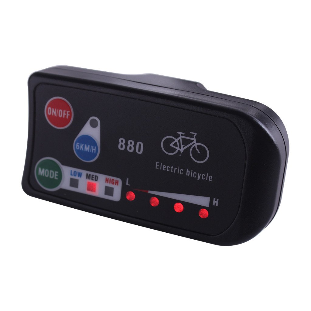 ZOOMPOWER 36v 48v electric bicycle kt led led880 ebike control panel display electric bike parts for kt controller