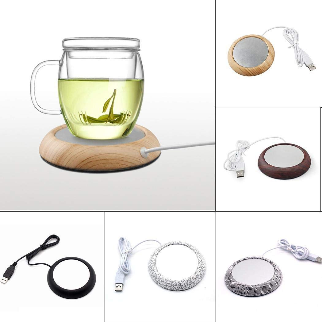 Weardear Smart Office Desk Use Coffee Mug Warmer Plate Beverage Warmers