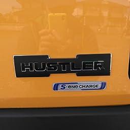 Amazon Co Jp カスタマーレビュー 松印 エンブレムフィルム T1 車名エンブレム用 ハスラー Mr31s カラー つや消しブラック