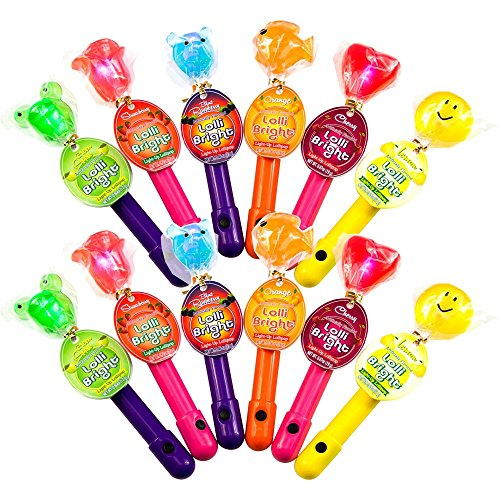 Light-Up Lollipop - Lollibright - Fun and Safe - Made from N