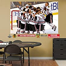 Fathead 71-71378 Wall Decal, NHL Chicago Blackhawks Stanley Cup Celebration Mural