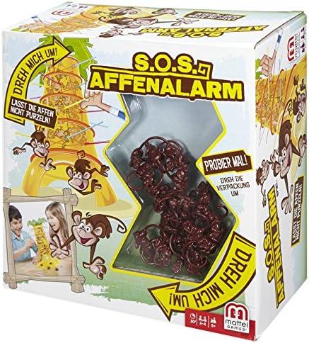 Mattel Games 52563 – S.O.S. Affenalarm