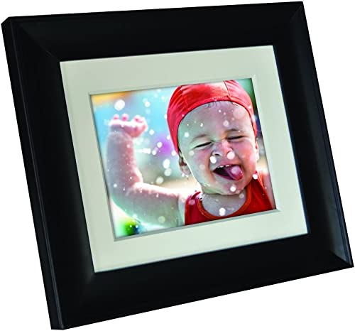 Digital Photo Frame 1280×800 16 9 IPS Screen Include 32GB SD Card HD Digital Picture Frame Widescreen, Support 1080P Videos, Photos Auto Rotate, Support Thumb USB Drive, SD MMC MS Card 7 Inch Black