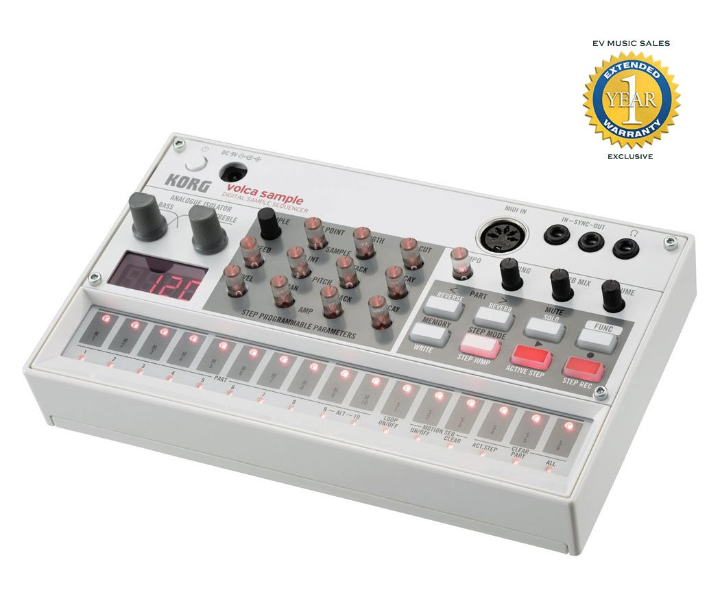 Korg VOLCASAMPLE Sample Playback Rhythm Machine