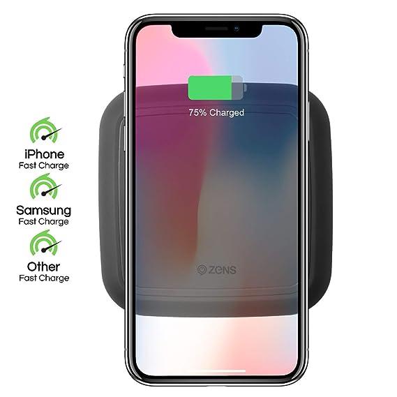 Amazon.com: ZENS - Cargador inalámbrico para iPhone y ...
