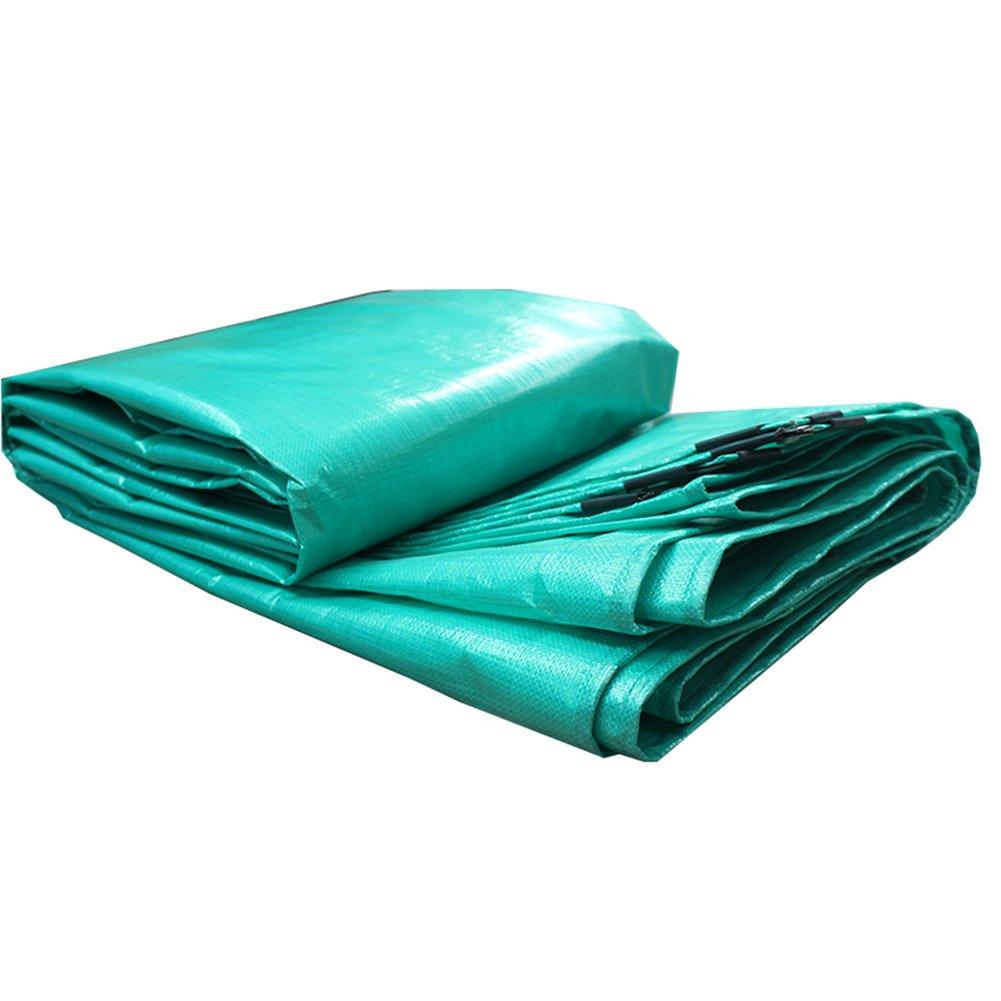 QX pengbu IAIZI Doppelseitige Wasserdichte schwere Plane kampierende Zeltunterlage im Freien regendicht Sonnenschutz Markise Tuch