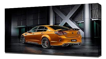 Amazon com: Lilarama USA 2017 Holden HSV GTSR V2 - Canvas Art Print