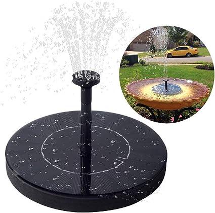 Solar Powered Fountain Pump Bird Bath Water Pump Garden Patio Decoration 2.5W