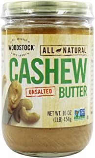 product image for Woodstock Farms - All-Natural Cashew Butter Unsalted - 16 oz