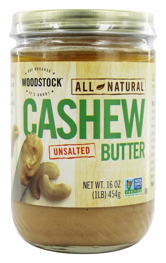 Woodstock Farms - All-Natural Cashew Butter Unsalted - 16 oz